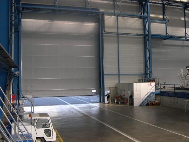 Промышленные ворота Airbus