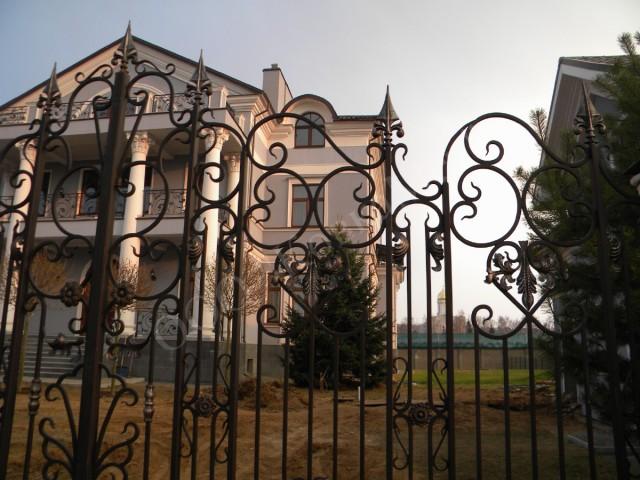 Кованые ворота АРТ. КВ-6