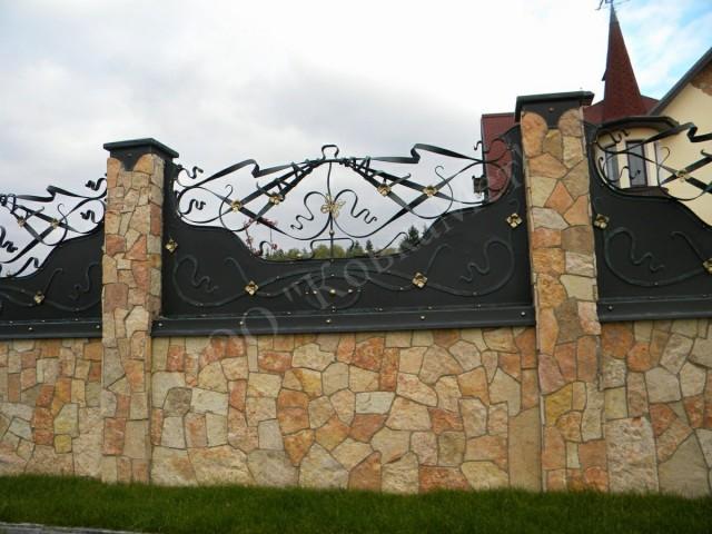 Кованый забор Арт. Кз-11